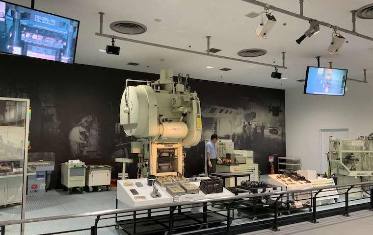 トヨタ産業技術記念館の実演
