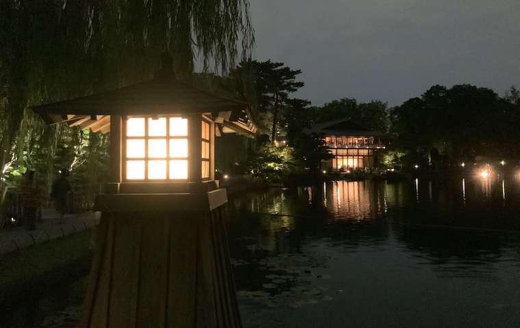 夜の徳川園