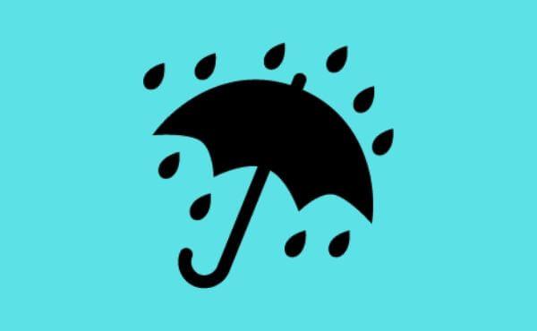 雨の日の名古屋観光地
