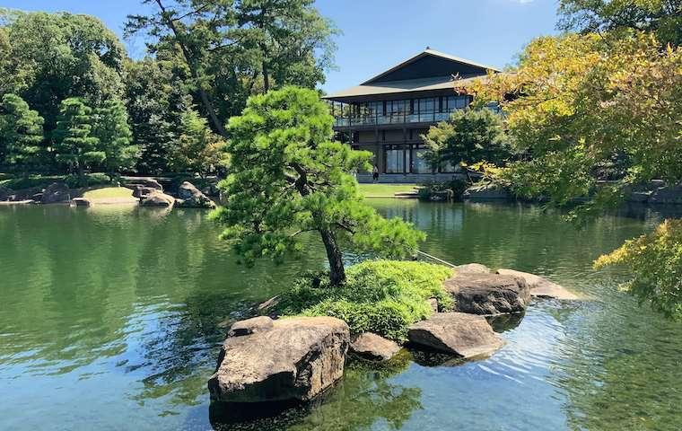 徳川園の日本庭園
