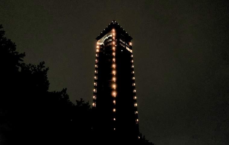 夜のスカイタワー